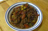 Chili de carne de venado