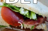 Comida para llevar de hombre de negocios (BLT)