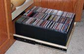 Organizador de discos compactos