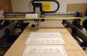 Signos de madera personalizado hecho con Shopbot CNC Router
