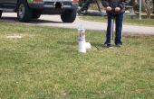 Cohete de botella bastante fácil
