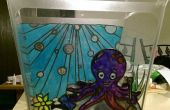 Garden pecera de vidrio Octopus
