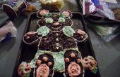 Encoger el osito Cup Cake - torta