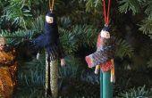 DIY adornos para tu árbol de Navidad!