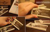 3D impreso tarjetas de presentación