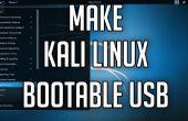 Cómo hacer un USB Bootable Kali Linux 2.0
