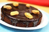 Cómo hacer pastel de Chocolate fechas - receta casera de pastel de las fechas de