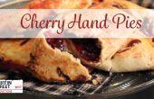 Tartas de cereza fácil de la mano