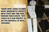 Simple marioneta títere