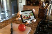 Un iPad / tableta PVC soporte cualquiera puede hacer!