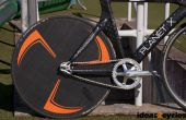 Rueda de disco de carbono para una moto de pista sin herramientas personalizadas
