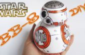 BB 8-Star Wars / Foam, Goma Eva-bricolaje