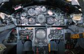 Caza estelar F-104 Steampunk lámpara y enchufe