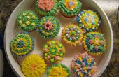 Cupcakes decorados.