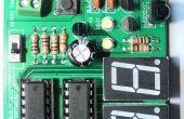 Infrarrojo basado en kit de bricolaje digital objeto contador