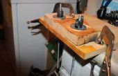 Mordaza horizontal (mi mesa Shavehorse sin el caballo)