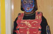 Mi disfraz de Halloween de Samurai