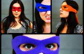 Tutorial de mascara de superhéroe + patrón