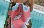 Bufanda de recuerdo vintage vestido