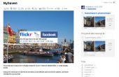 Subir fotos de Flickr directamente a álbum de fotos de Facebook