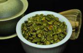 Confitadas de té verde semillas de calabaza