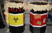 Barriles de residuos tóxicos