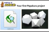 Su primer proyecto de Pepakura