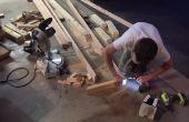 DIY arenque hueso Banco con plataforma!