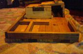 Mi casa de coche de madera