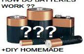 ¿Cómo funcionan las baterías? (+ Batería casera DIY)