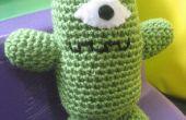 Hermoso monstruo verde