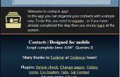 Simple web PHP para contactos