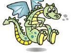 Cómo dibujar un dragón de dibujos animados!!!!!!