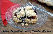 Fácil pastel de baya de tres ingrediente