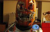Mutante Cyborg calabaza Halloween traje v1.3
