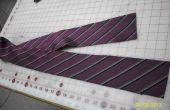 * Re-PURPOSED * - lazo de los hombres (en) cinta de sesgo - púrpura