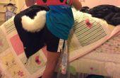Cómo coser una cola animosa
