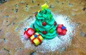 Decoración árbol de Navidad comestible fácil