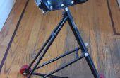 Bicicleta marco triángulo silla