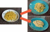 Disfrazarse de queso y macarrones en caja (en 20 minutos o menos!)