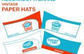 Resucitar una marca - Burger Chef - parte 6 - Vintage sombrero de servicios de alimentación