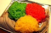 Fideos de colores, para comer!