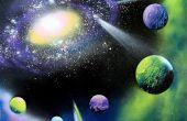 Pintar una galaxia en 30 minutos