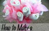 Tutorial Bouquet - de pañales Baby Shower