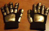 Rápido y barato Daft Punk guantes