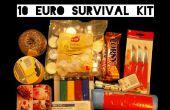 Kit de supervivencia de 10 euros (desafío)