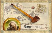 Hobbit Wooden Pipe