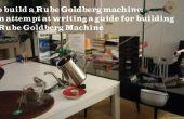 Prototipo de máquina de Rube Goldberg