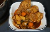 Estofado de pollo picante Coreano
