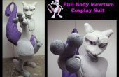 Completo traje de cuerpo Mewtwo